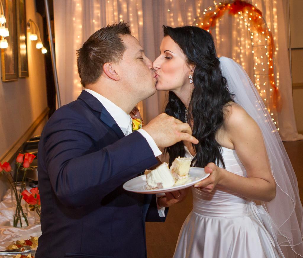 Anna Stevens and Michel Szabo Wedding
