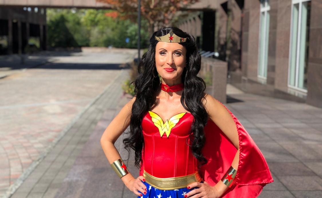 Anna Szabo Wonder Woman - Spiritual Warfare